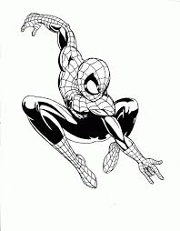 coloring pages of ultimate spider man coloring page photos