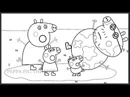 peppa pig daddy pig mummy pig coloring book coloring pages videos