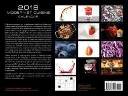 the modernist cuisine modernist cuisine 2018 wall calendar nathan myhrvold 9780982761090