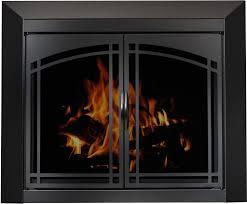 superior fireplace glass doors fleshroxon decoration