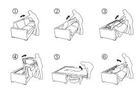 mécanisme canapé convertible canapé convertible couchage quotidien cooper