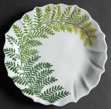 painted platter vietri italy painted palms at replacements ltd
