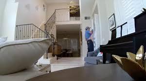 burglar flees irvine home after babysitter catches him by surprise