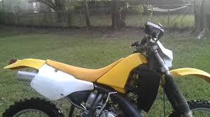 1998 suzuki rmx 250 youtube