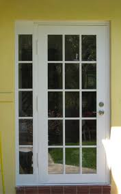 Exterior Single French Door by Patio Doors Patio Door Single French Doors With Sidelites Gallery