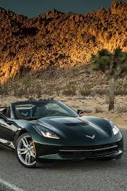 corvette stingray green mobile hd wallpapers corvette stingray sportscar green mountain