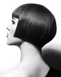 1920s charleston hairstyle that just covers ear with a