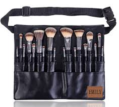professional makeup artist bag professional makeup brush 18pcs handmade manly makeup brushes