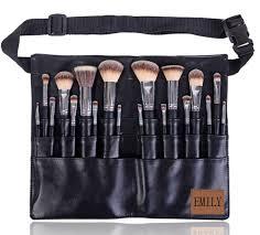 professional makeup brush 18pcs full handmade manly makeup brushes with makeup artist bag makeup