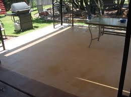 Outdoor Floor Painting Ideas Miraculous Concrete Stain For Outdoor Patio On Valspar Brown Paint