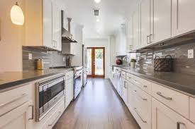 Kitchen Designs Galley - best white galley kitchen
