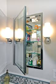 Bathroom Mirrors Cabinets Medicine Cabinets With Lights Bathroom With Built In Medicine