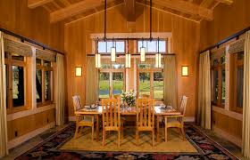 craftsman dining room modern craftsman dining with wood chair