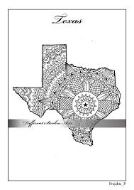 coloring maps texas map states maps by differentstrokesarts