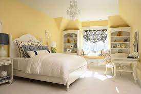 bedroom inspiring yellow bedroom wall cover with white bed set