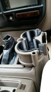 lexus lx450 aftermarket parts 80 series lx450 double cup holder bh3d printing