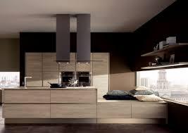 cuisine design bois cuisine et bois un espace moderne et intrigant