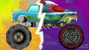 kids monster truck video childrens monster truck videos cakes for kids video animals s