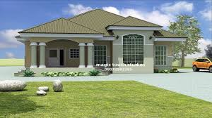 Architectural Design 5 Bedroom Bungalow