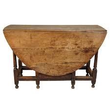 Drop Leaf Oak Table Antique George Iii Period Oak Gate Leg Drop Leaf Table