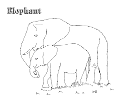 e is for elephant coloring page letter e preschool printables
