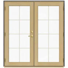 Wood Patio Door Wood Patio Doors Exterior Doors The Home Depot