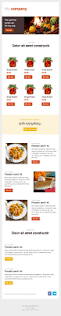 free e newsletter templates newsletter templates free email templates cakemail com thanksgiving