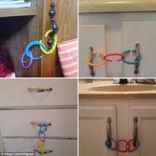 Child Proofing Cabinet Doors Diy Child Proofing Cupboard Doors Easy Brilliant New House