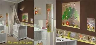 chambre bebe jungle décoration chambre enfant mes amis de la jungle par baby sphere