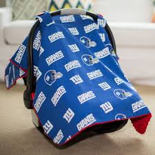 Ny Giants Crib Bedding New York Giants Baby Gear Infant Carseat Canopy Cover Nfl