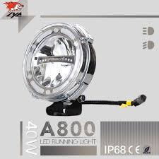 strobe lights for car headlights lyc 7 inch round led headlight 12v 24v in trucks ip68 led work light