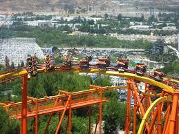 Six Flags Magic Mountain Six Flags Magic Mountain Tatsu Aerial Spokkerjones Flickr