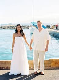 maui hawaii destination wedding on a boat