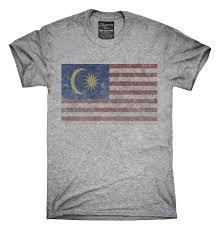 Malasia Flag Retro Vintage Malaysia Flag T Shirt Hoodie Tank Top U2013 Chummy Tees