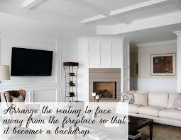 Corner Fireplace Living Room Furniture Placement - working with a corner fireplace emily a clark