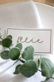 Table Setting Cards - how to make the perfect place cards in less than 5 minutes