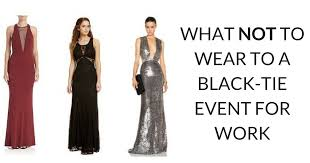 black tie attire black tie attire for women achor weddings
