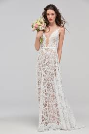 illusion neckline wedding dress willowby 59120 illusion neckline bridal dress madamebridal
