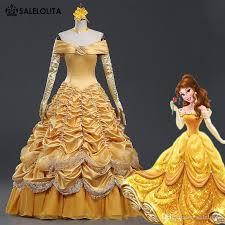 Belle Halloween Costume Adults 2017 Sale Princess Belle Costume Women Beauty