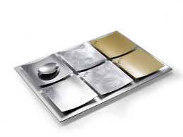 modern seder plate dune seder plate mixed metals cowan modern judaica