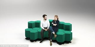 Sofa Lifts Strange Shape Changing Furniture That Can Change From A Sofa To