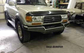 toyota land cruiser bumper 80 series toyota land cruiser front winch custom bumper