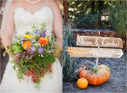 orange county wedding photography wildflower bouquet thanksgiving