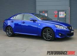 lexus isf blue 2012 lexus is 350 f sport review performancedrive