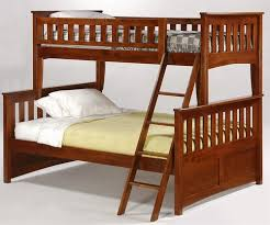 Timber Bunk Bed And Day Bunk Bed In Cherry Spices