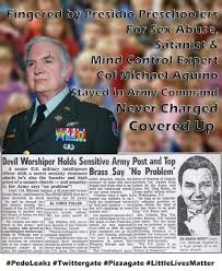 Kidsinmind by Satanist Col Michael Aquino Fingered By Kids In Military U0027s