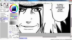 how to make paint tool sai manga como hacer pintura herramienta