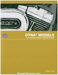2016 harley davidson dyna motorcycle service manual 99481 16 ebay