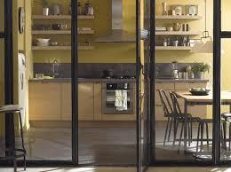 cloison vitree cuisine cloisons en cuisine jouez la transparence maison travaux
