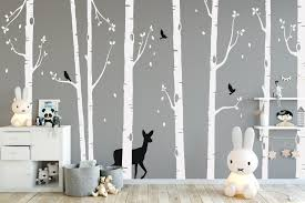 tree wall stickers nursery ideas forest animal wall stickers tree wall stickers nursery